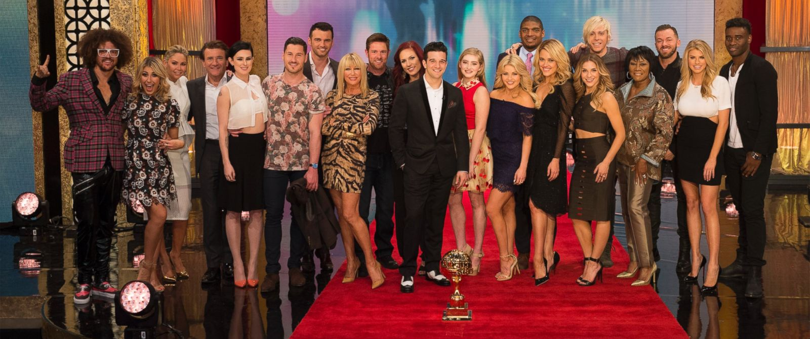 """PHOTO: The star-studded celebrity cast for season 20 of """"Dancing With the Stars"""" was revealed today on """"Good Morning America."""""""