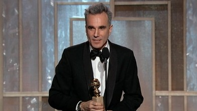 PHOTO: Daniel Day Lewis accepts the award for Best Actor in a drama at the 70th Annual Golden Globes, Jan. 13, 2013.