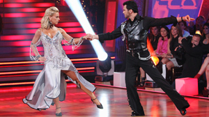 "PHOTO Kate Gosselin and Tony Dovolani compete on ""Dancing with the Stars."""