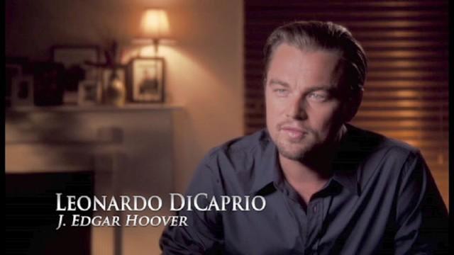"VIDEO: A never-before-seen clip from Leonardo DiCaprios ""J. Edgar."""