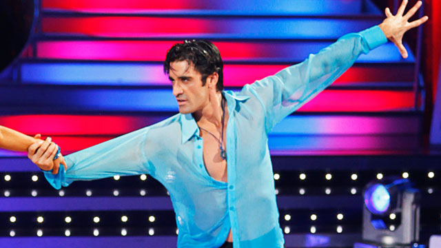 "PHOTO: Gilles Marini competes in ""Dancing With The Stars"", May 4, 2009."