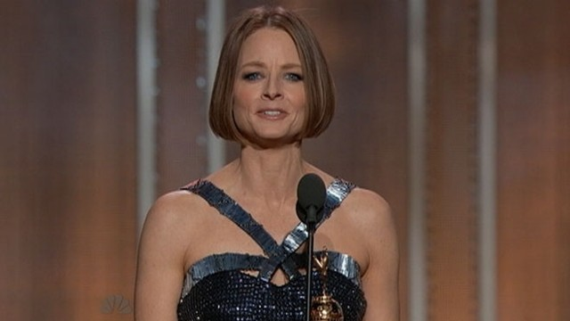 VIDEO: Jodie Fosters 2013 Golden Globe Awards acceptance speech.