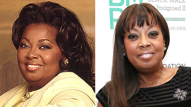 "PHOTO: Star Jones is shown while on ""The View,"" left, and in March 2013."