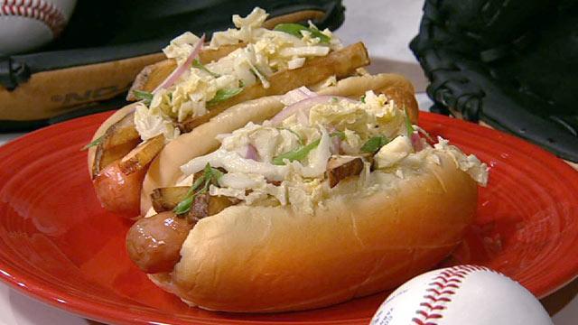 Polish Boy Hot Dog Recipe