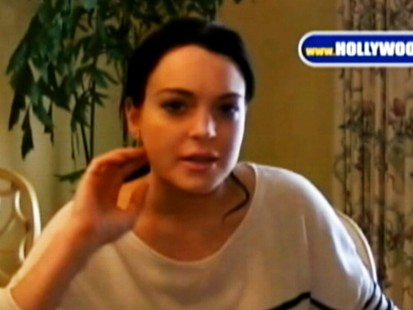 Video: Lindsay Lohan talks about her status hearing.