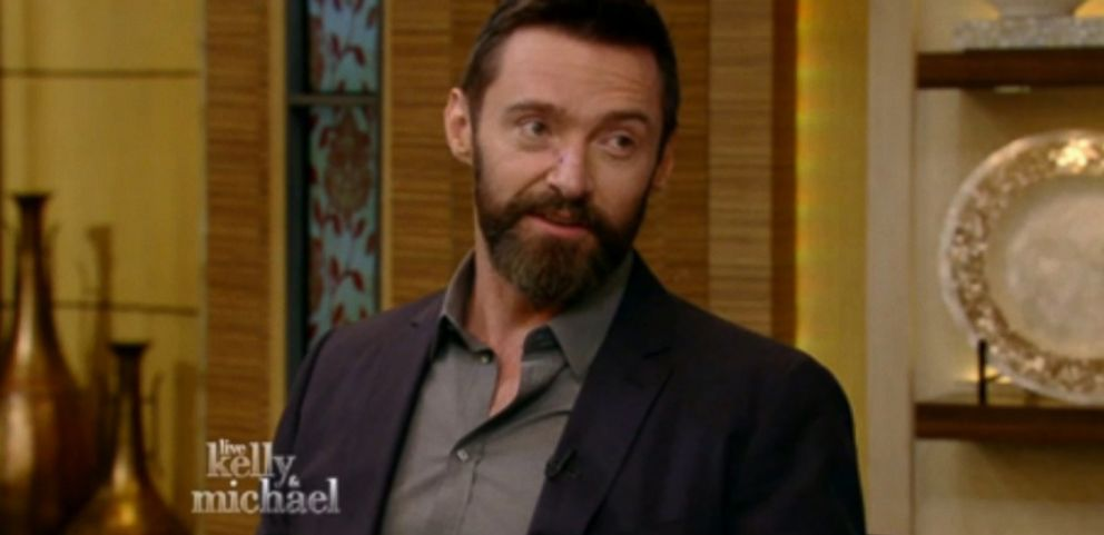 """The actor explains on """"Live with Kelly & Michael"""" why he """"went commando"""" as Wolverine."""