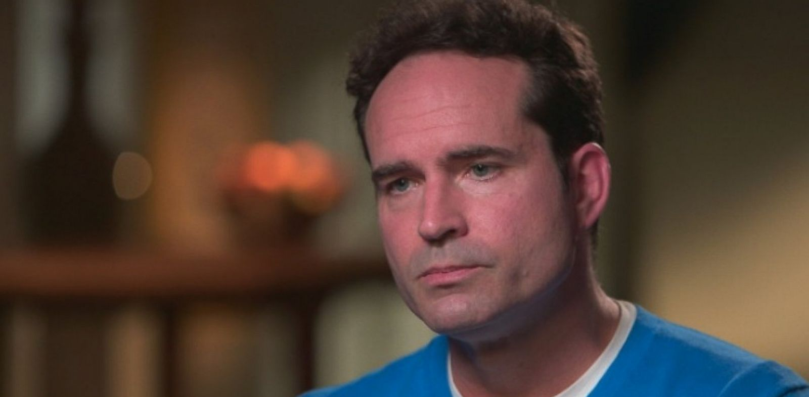 "PHOTO: Jason Patric, star of ""The Lost Boys,"" is interviewed on ""20/20"" by David Muir. Patric is fighting for shared custody of his son with Danielle Schreiber."