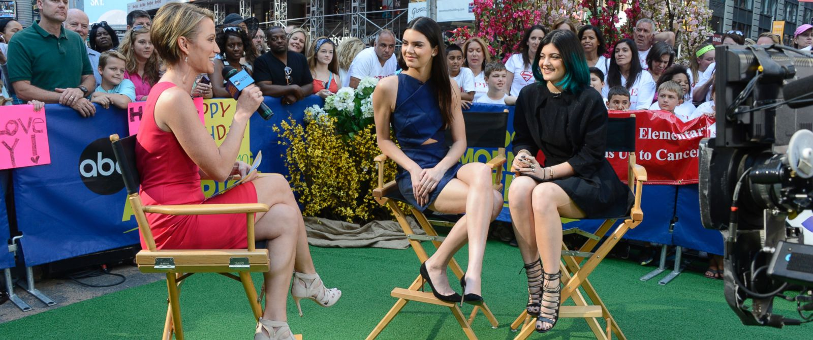 PHOTO: Kylie and Kendall Jenner appear on Good Morning America on June 3, 2014.