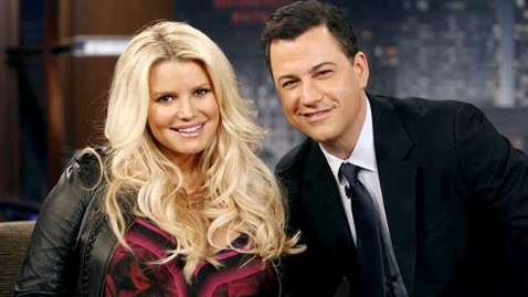 abc jessica simpson jimmy kimmel jef 120321 wblog Jessica Simpson Says When Her Water Breaks, It Will Be Like a Fire Hydrant