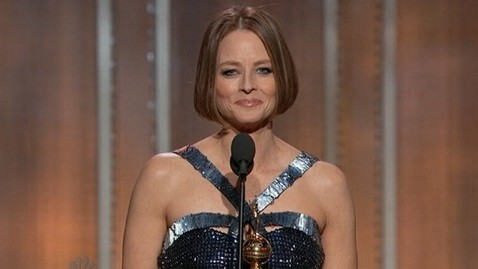 abc jodie foster tk 130113 wblog Live Updates: The 2013 Golden Globe Awards