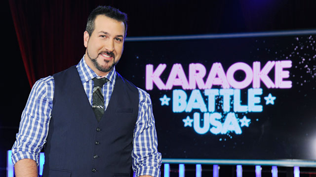 PHOTO:American singer, dancer, actor and television personality Joey Fatone, best known as a member of international pop phenomenon NSYNC.