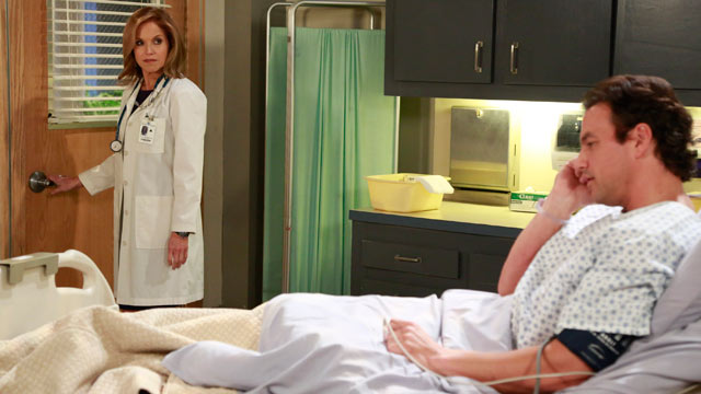 "PHOTO: Katie Couric guest-starred on ""General Hospital"" on April 1, 2013."