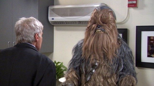 VIDEO: Harrison Ford curses and fights with Chewbacca.