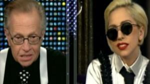 Lady Gaga as Larry King