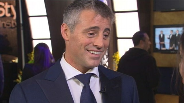 "VIDEO: ""Episodes"" star and former ""Friends"" actor Matt LeBlanc wins first Golden Globe."