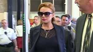 Photo: Is Lindsay Lohan Headed Back To Jail? Actress Could Face Additional Jail Time for Violating Probation; Hearing Set for Today