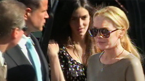 PHOTO Lindsay Lohan arrives in court, March 10, 2011 in Los Angeles, Calif.