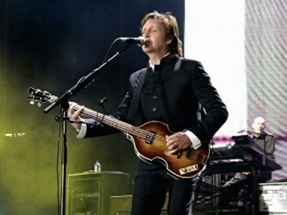 Paul McCartney rocks NYC.