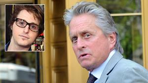 PHOTO Michael Douglas arrives at Manhattan federal court for the sentencing of his son Cameron Douglas.