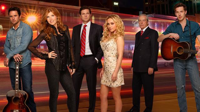 """PHOTO: ABC's """"Nashville"""" stars Connie Britton and Hayden Panettiere."""