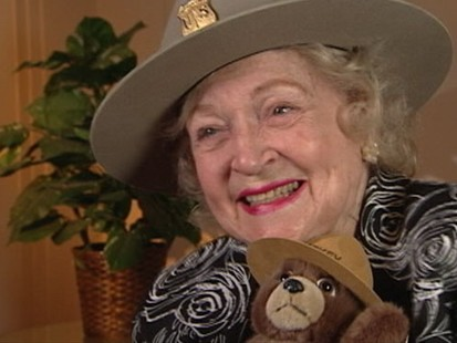 VIDEO: Betty White Becomes an Honorary Forest Ranger