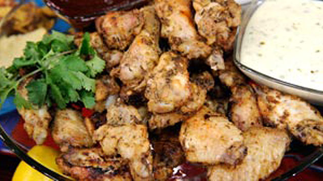 PHOTO: Oven-Roasted Chicken Wings