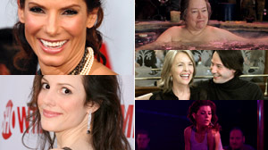 PHOTO Some of the Hollywood actresses who have been in nude scenes after the age of 40, are shown in these file photos.