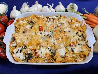 PHOTO: Stanley Tuccis pasta casserole recipe is shown here.