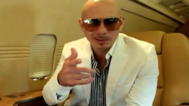 Rapper Pitbull Goes to Alaska