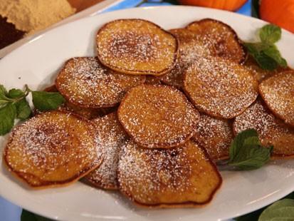 PHOTO: Valerie Bertinellis pumpkin pancakes are shown here.