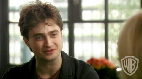 abc radcliffe harry potter jp 111110 wblog Exclusive: Daniel Radcliffe Was Allergic to Harry Potter