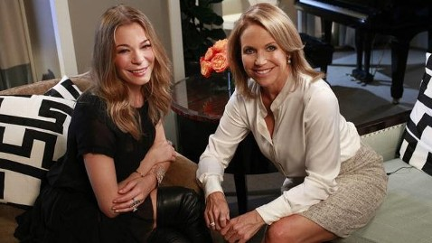 abc rimes couric tk 121022 wblog LeAnn Rimes, Out of Treatment, Says Im Starting Over
