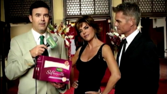 VIDEO: Lisa Rinna and husband Harry Hamlin appear in ad for the absorbent briefs.
