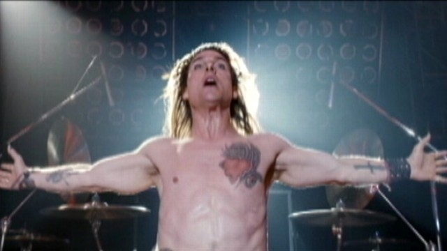 VIDEO: Tom Cruise plays a 1980s rocker in Rock of Ages.
