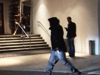 Video: Chris Brown seen outside Beverly Hills bar.