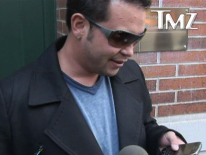 Video: Jon Gosselin reads email from Kate to reporters.