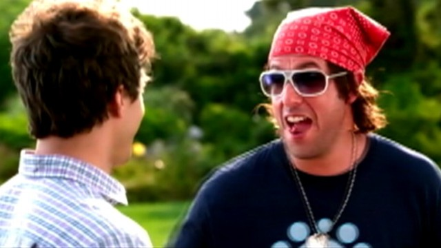 VIDEO: Adam Sandler, Andy Samberg star in comedy slated for Fathers Day 2012 release.