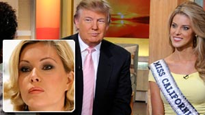Photo: Shanna Moakler Resigns Following Carrie Prejean Scandal, While Donald Trump Showers Praise.Trump Calls Controversy Over Prejeans Conservative Views a Good Thing