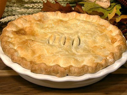 PHOTO: Carla Halls turkey pot pie recipe is shown here.