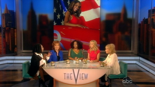 "VIDEO: ""The View"" co-host says ""vicious tweets"" against actress are out of line."