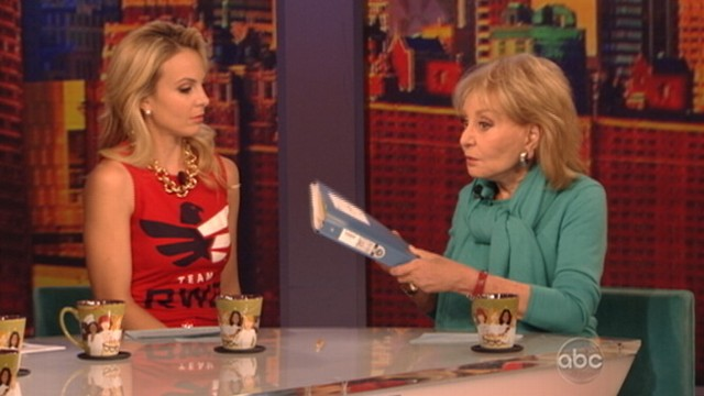 "VIDEO: ""The View"" co-host would have liked a ""more honest explanation"" for canceled interview with star."