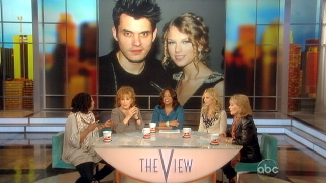 "VIDEO: Hosts of ""The View"" discuss John Mayers reaction to Taylor Swifts revenge song"