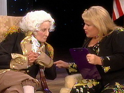 Barbara Walters Dressed as George Washington