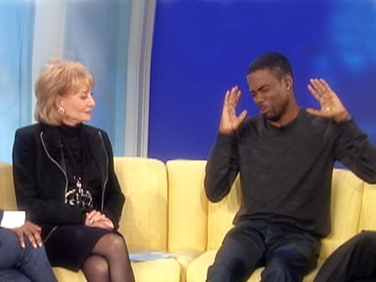 VIDEO: Chris Rock jokes about David Letterman on The View. ABCNEWS.com
