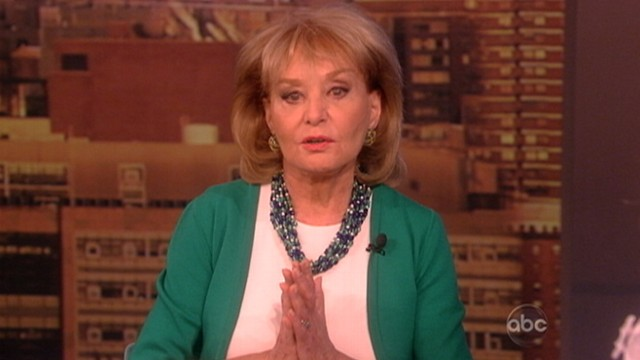 VIDEO: Barbara Walters returns to The View after illness.