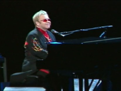 VIDEO: Elton John draws controversy after calling Jesus a compassionate gay man.