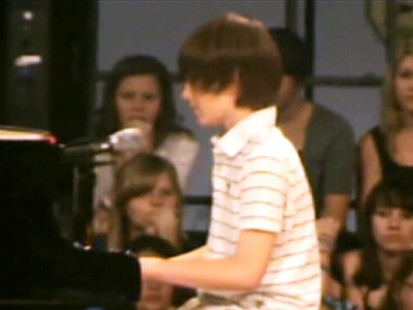 VIDEO: Sixth-grader Greyson Michael Chance is a Web hit with his cover of Lady Gagas Paparazzi.