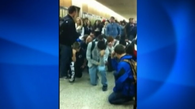 "VIDEO: N.Y. school officials declared the teens actions a ""dangerous situation."""