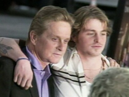 VIDEO: Cameron Douglas is sentenced to five years on drug charges.
