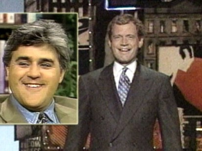 VIDEO: Johnny Carsons TV departure began a famous talk show rivalry.